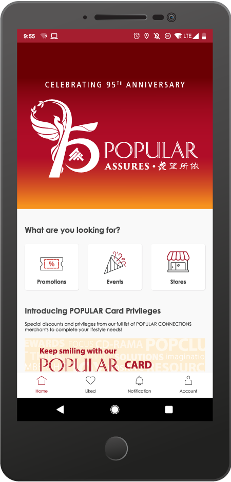 Download our app: Popular SG