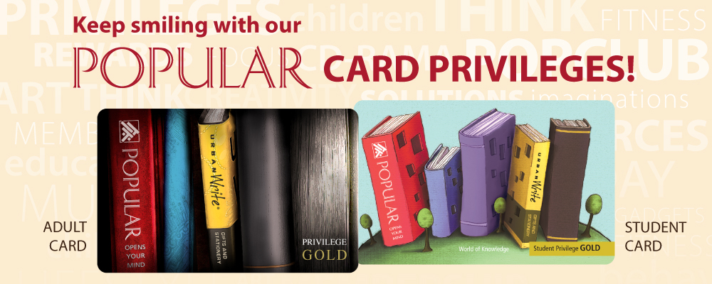 POPULAR Card Privileges